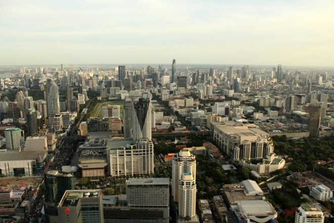 Panoramic view of Bangkok