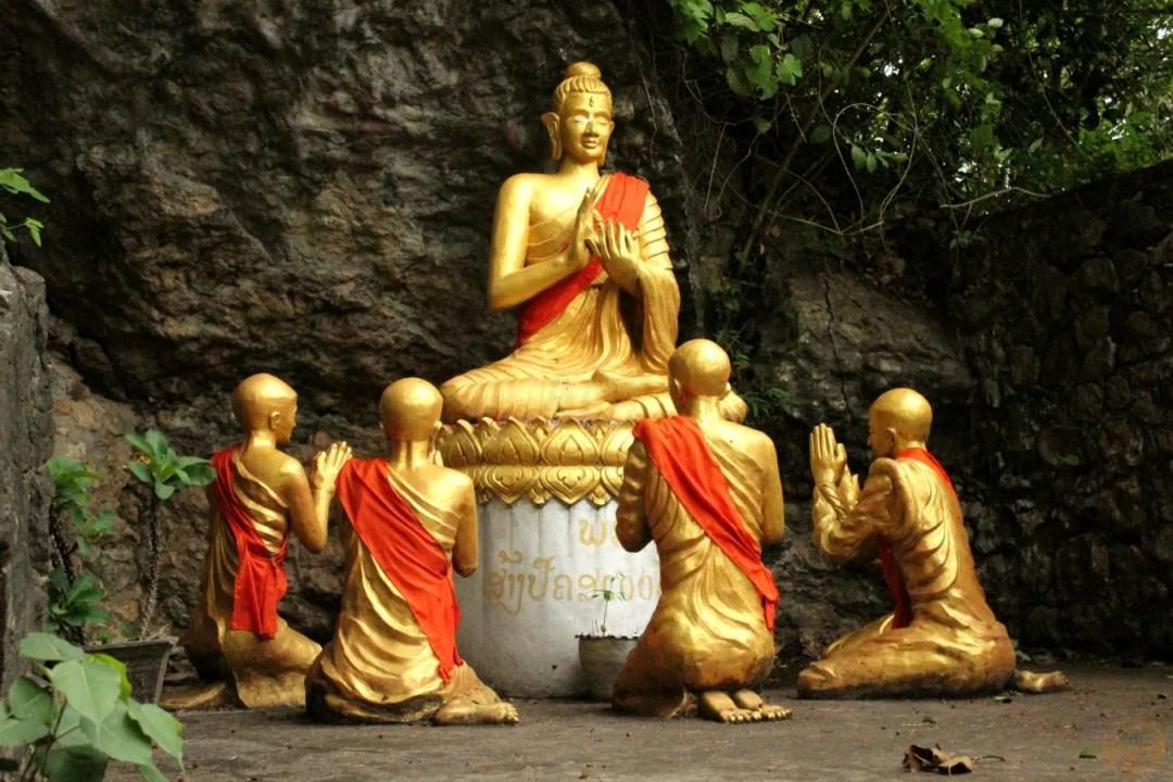 Phusi temple luang prabang