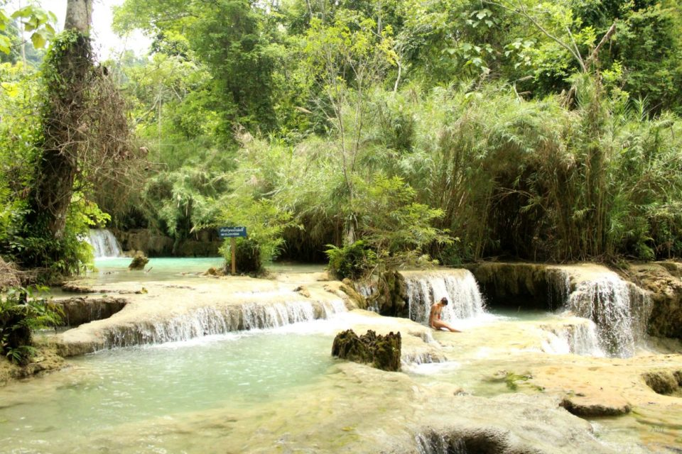 Kuang Si waterfall how to get there