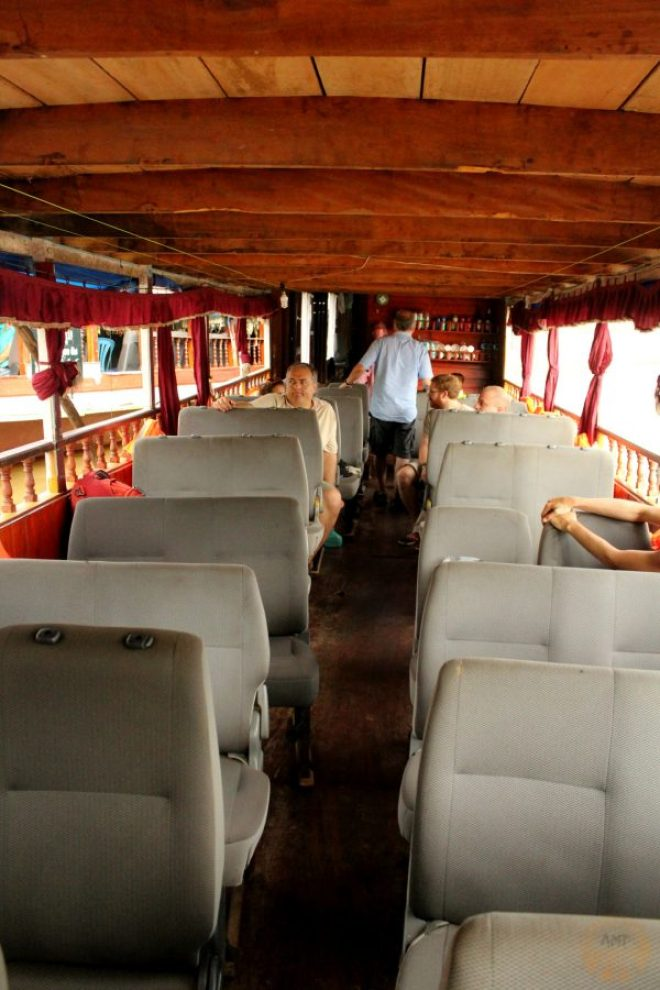 Boat from Luang Prabang to Houayxay