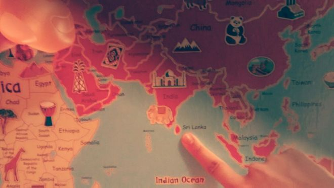 Dov'è lo Sri Lanka?