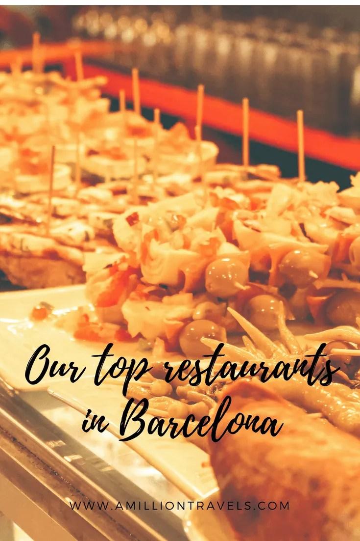 Our top restaurants in Barcelona