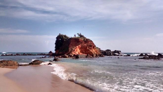 Spiaggia mirissa sri lanka