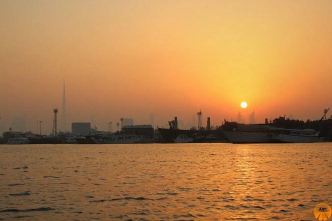 Burj Khalifa Sunset, Dubai
