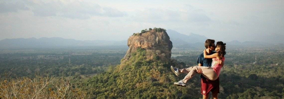 A Million Travels @ Sigiriya Rock, Sri Lanka
