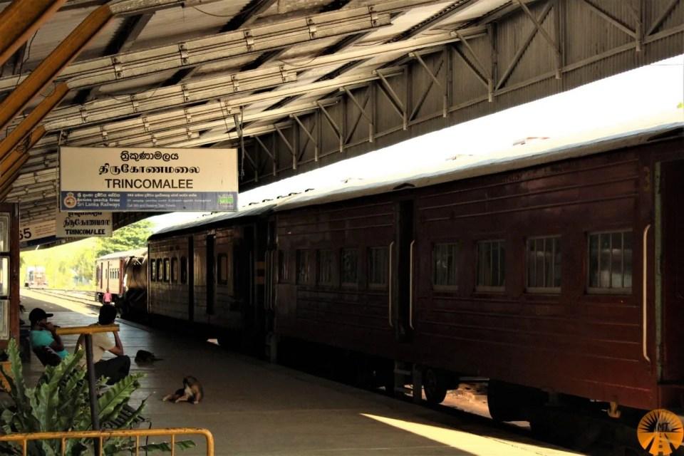 Trincomalee train station, Sri Lanka