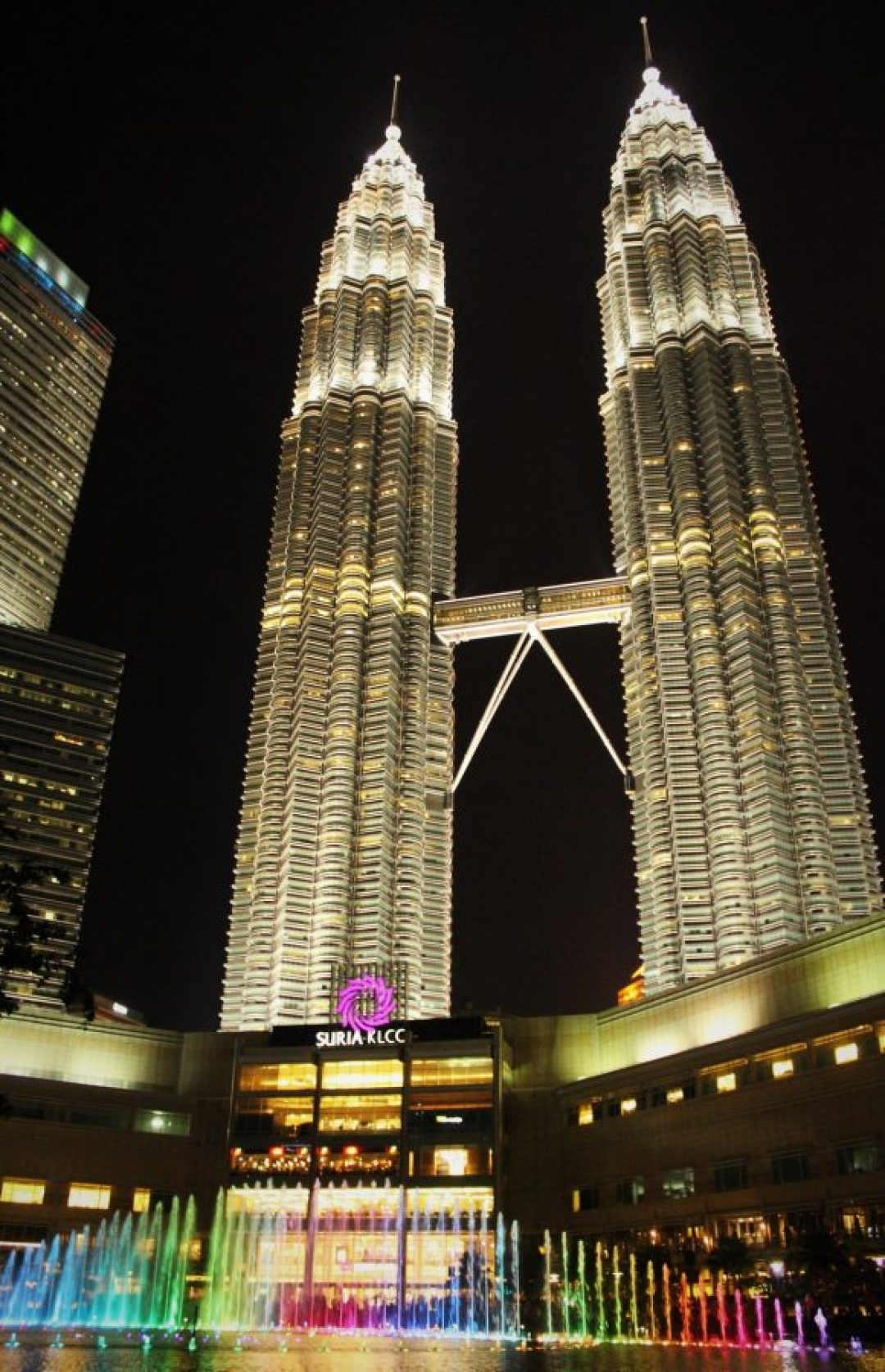 KLCC di notte, Malesia