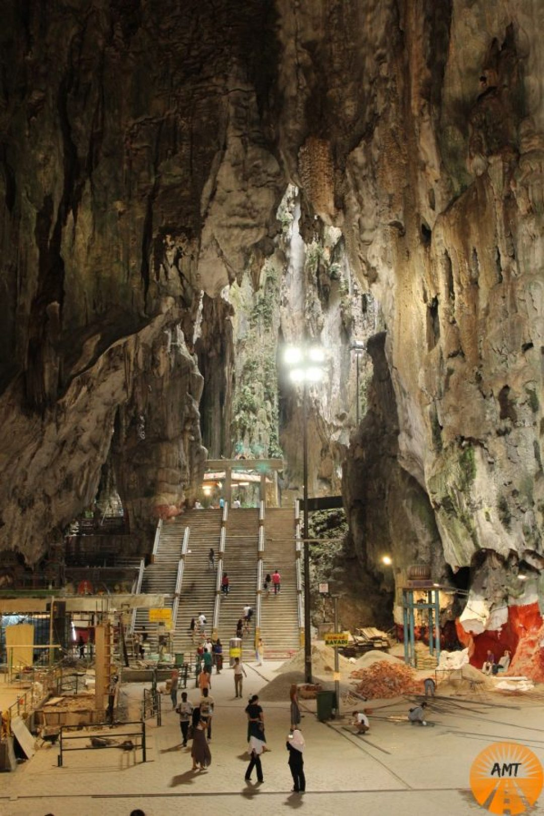 Batu Caves interno, Kuala Lumpur, Malesia