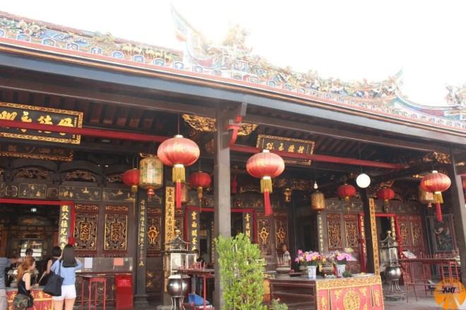 Pagoda cinese, Melaka, malesia