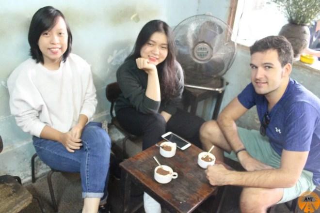 egg coffee cà phê trung Hanoi