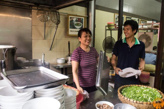 where to eat pho Hanoi