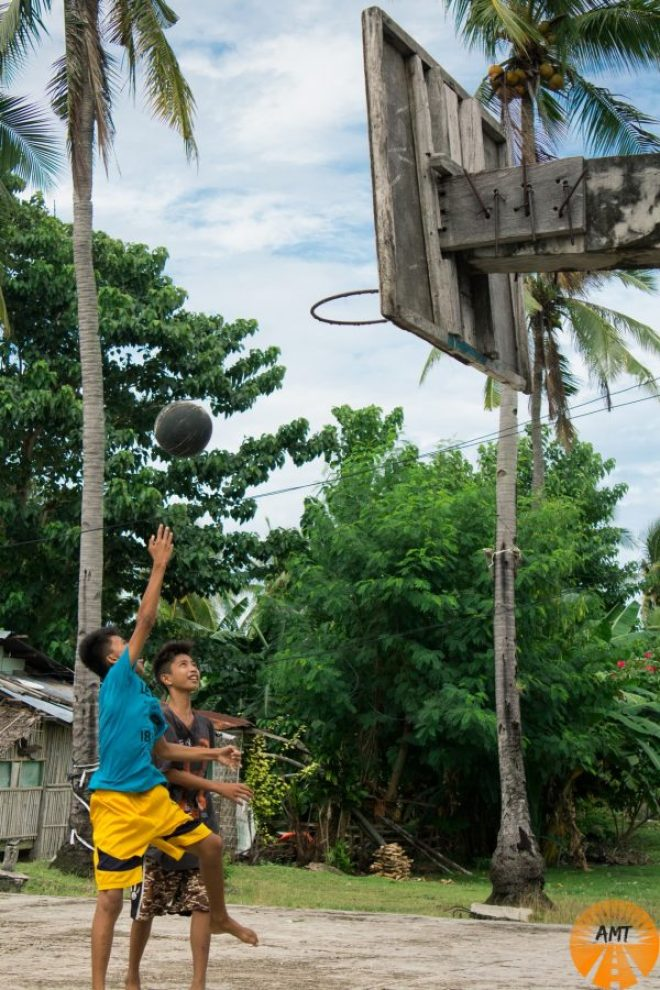 Philippines basketball island