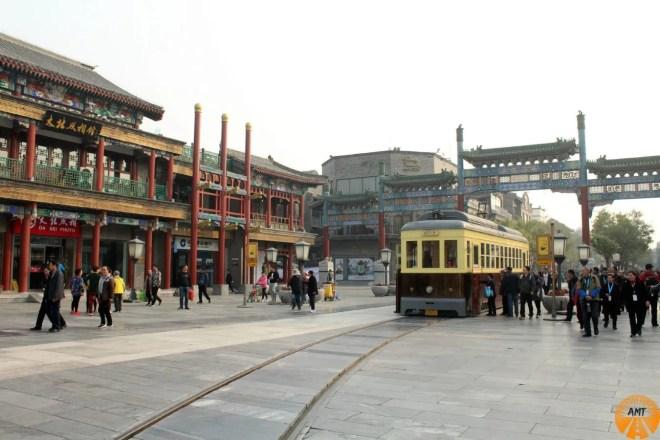 Qianmen tram