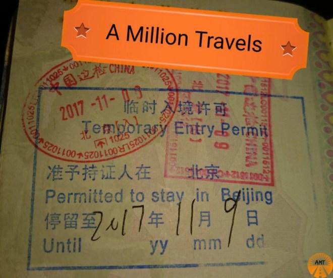 China 72 hour Visa Permit how to do
