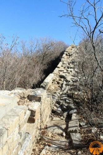 muraglia cinese sentiero jiankou