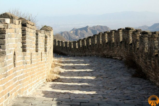 Mutianyu restored wall