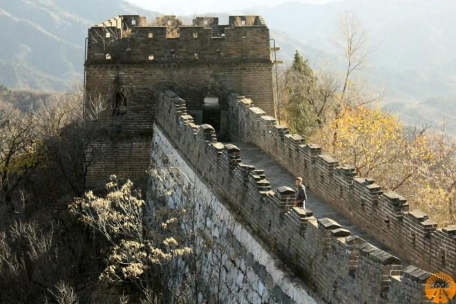 muraglia cinese mutianyu foto