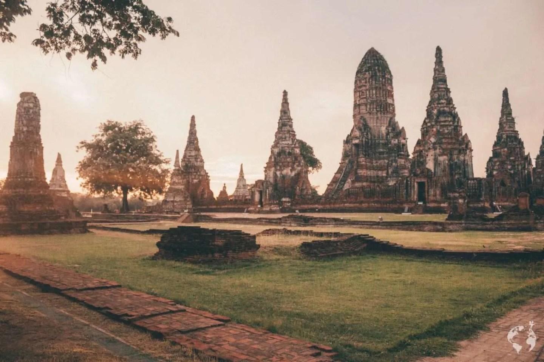 Day trip from Bangkok to Ayutthaya