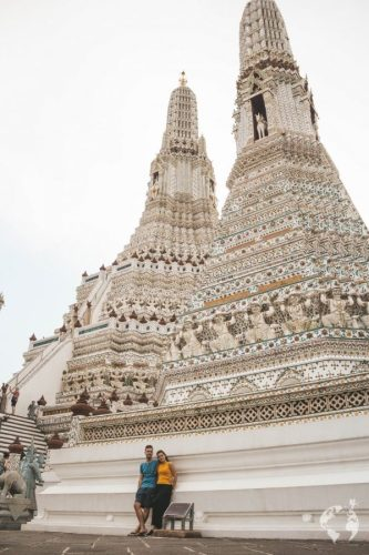 new white Wat Arun how to go