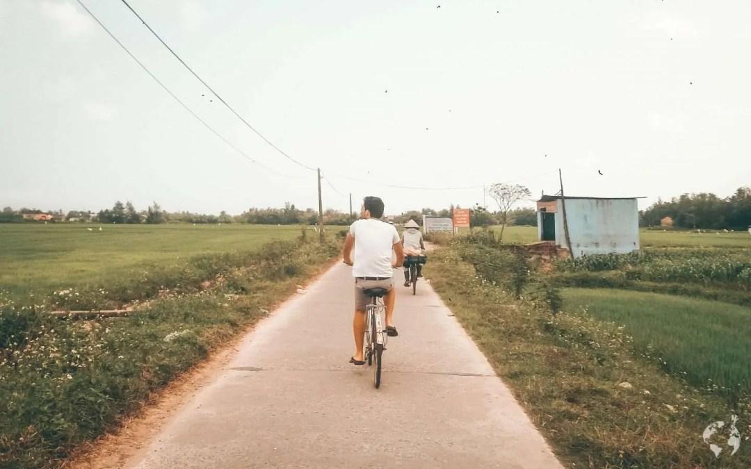 Hoi An giro in bici campi di riso cosa fare