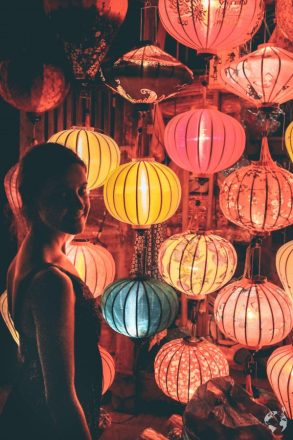 Ambra and lanterns Hoi An where to see