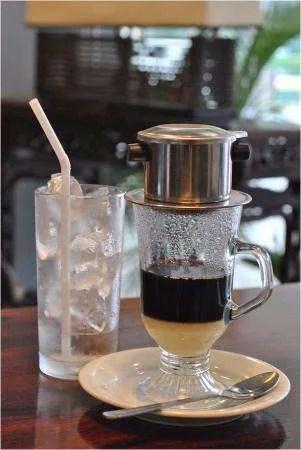 where to drink coffee ca phe sua da vietnam