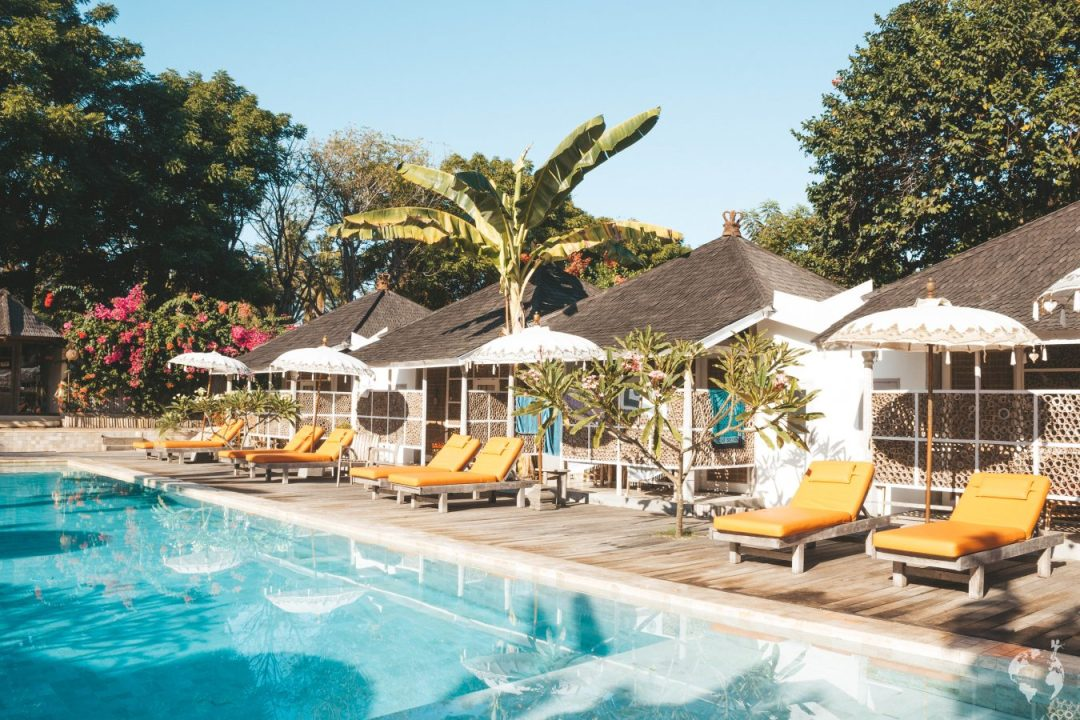 Les Villas Ottalia Gili Meno swimming pool photos