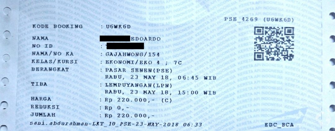 java by train how to buy ticket