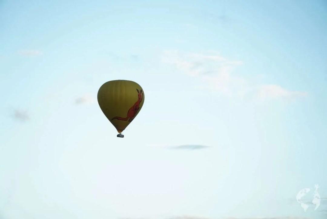 hot air balloon queensland how to book