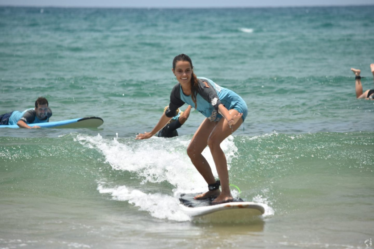 surfing Agnes Water