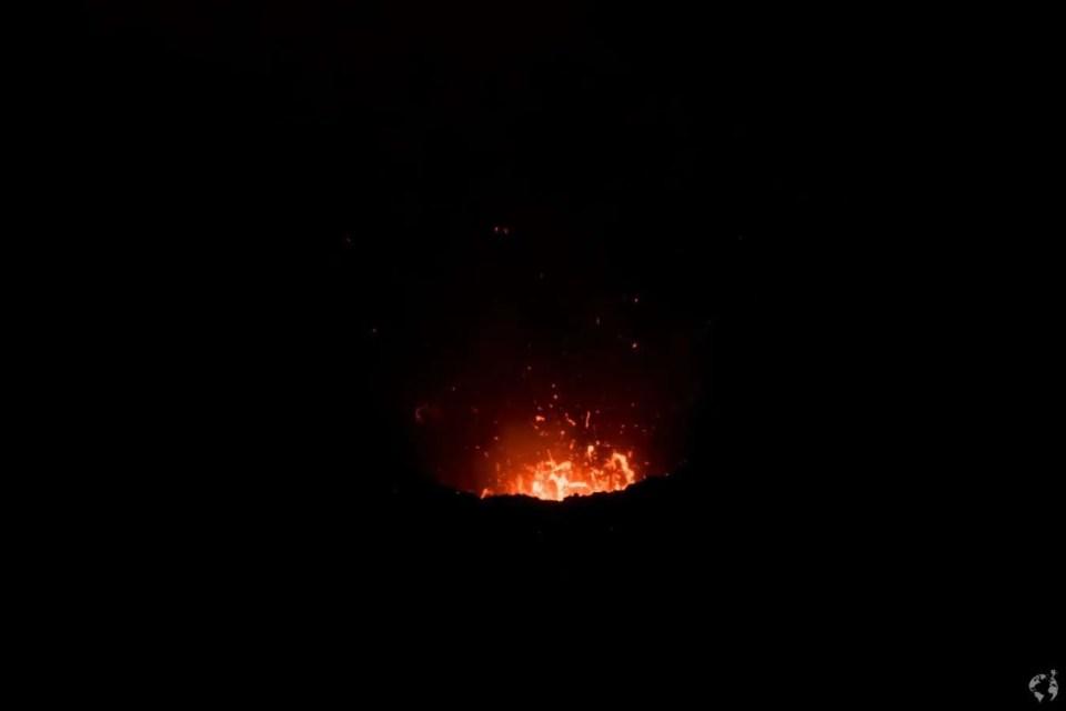Mt Yasur - tanna vanuatu photo