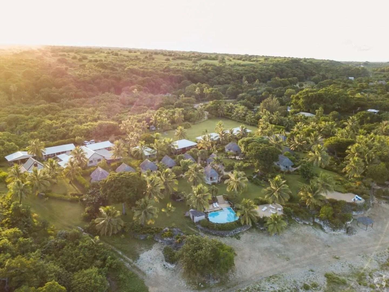 White Grass Resort - drone tanna
