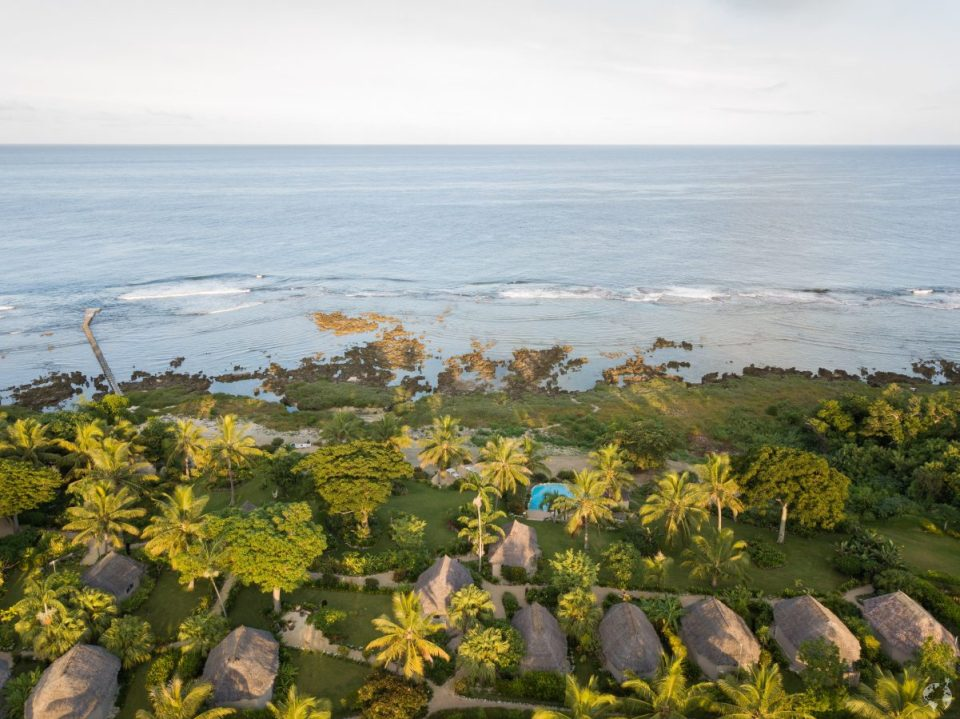White Grass Resort - tanna drone photo
