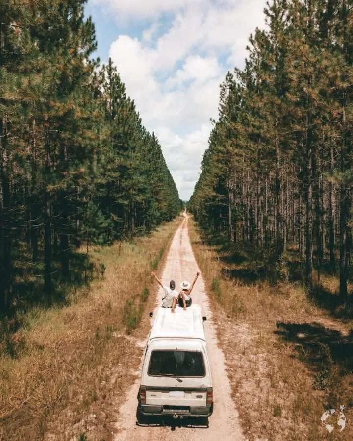 on the roadin australia