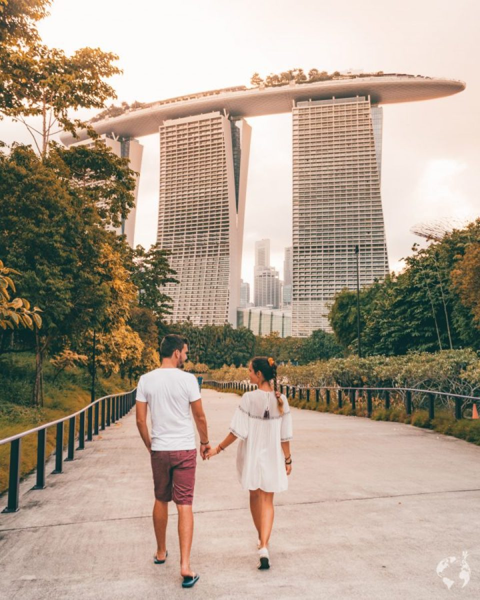 come arrivare gardens by the bay