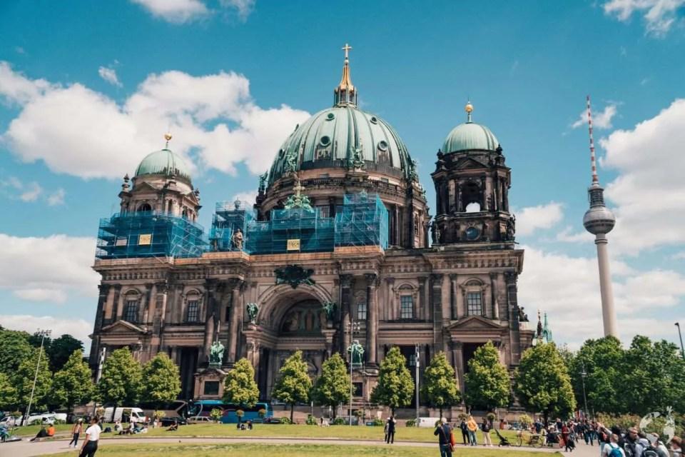 Berliner Dom enter fee