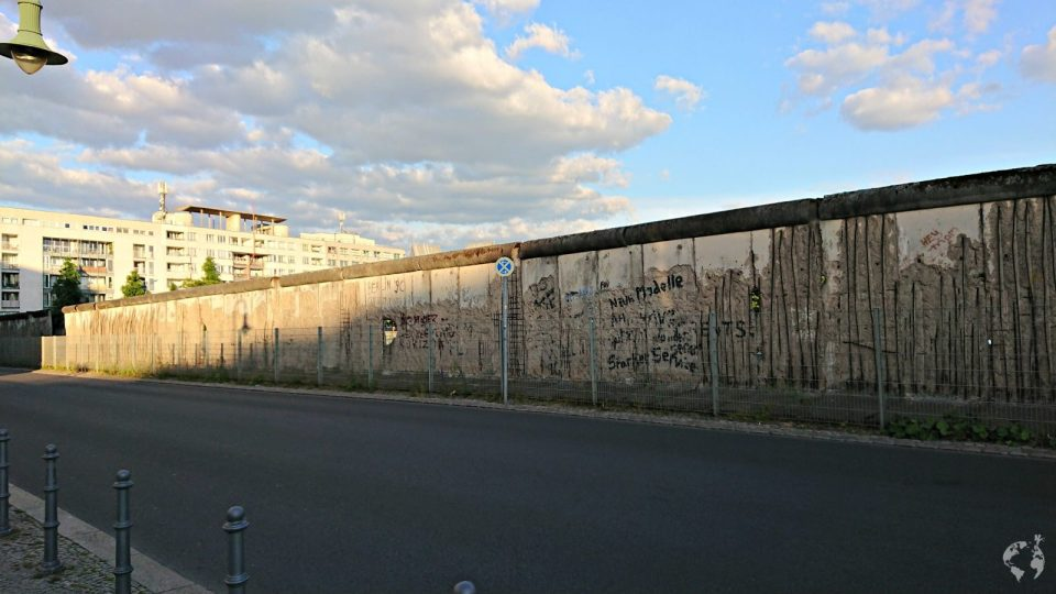 Wall of Berlin today