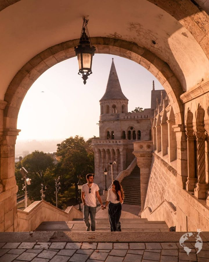 how to go fisherman's bastion