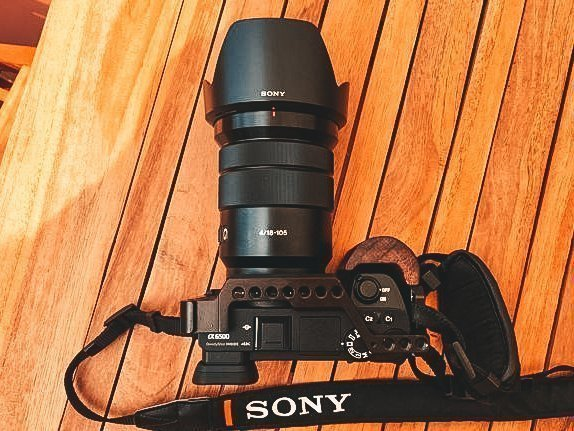 camera sony a6500 compatta mirrorless viaggio