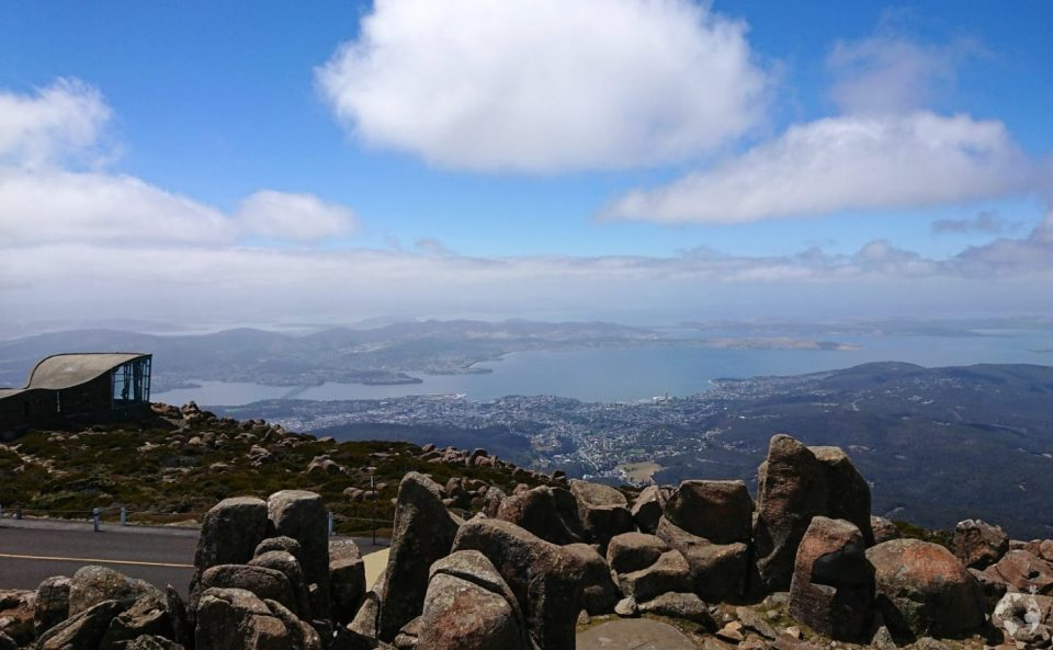 mount wellington view hobart