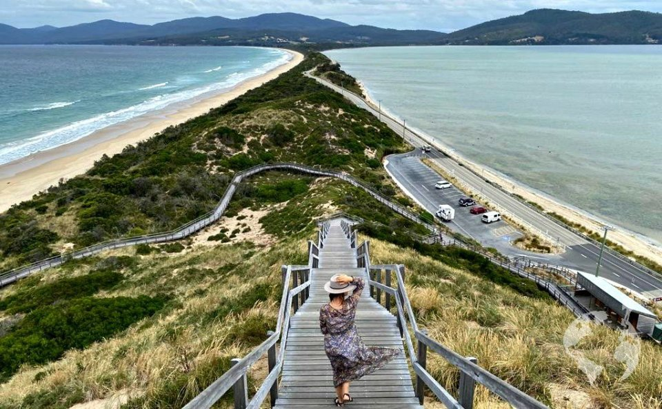 bruny island neck lookout how to go