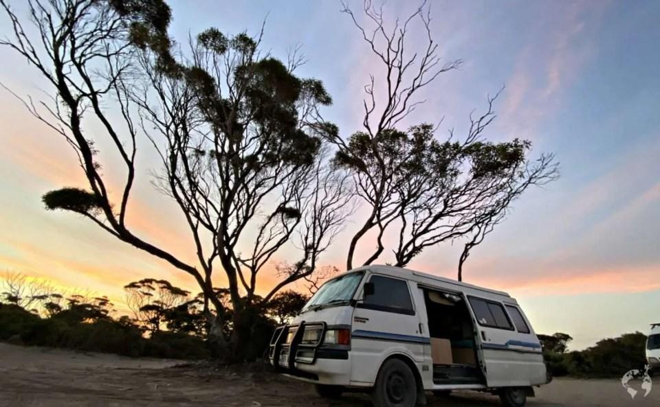 bush camping Lincoln National Park