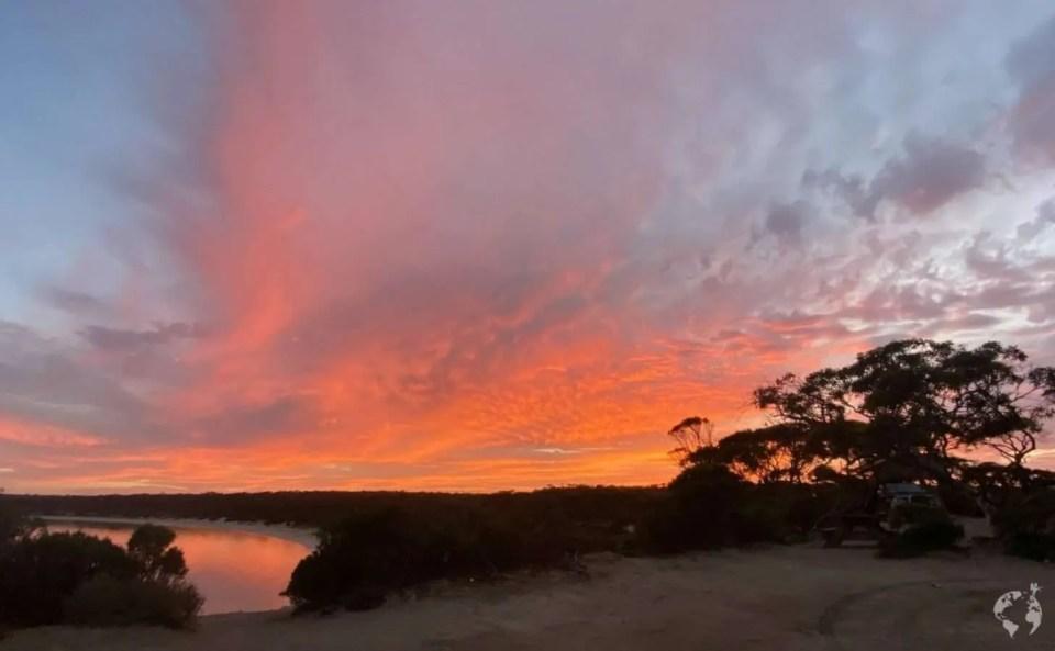 sunrise bush camping eyre peninsula