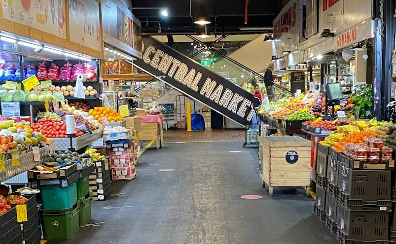 what to see adelaide central market