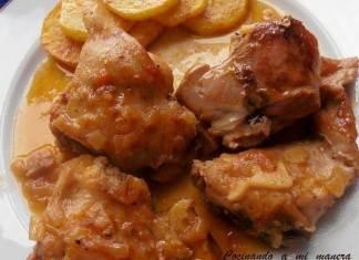 conejo en salsa