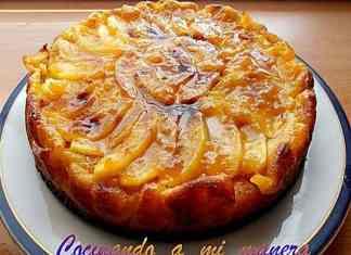 receta de tarta de manzana