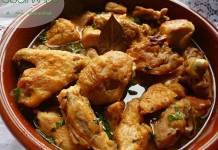 como hacer pollo en salsa