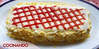 pastel de atun al microondas