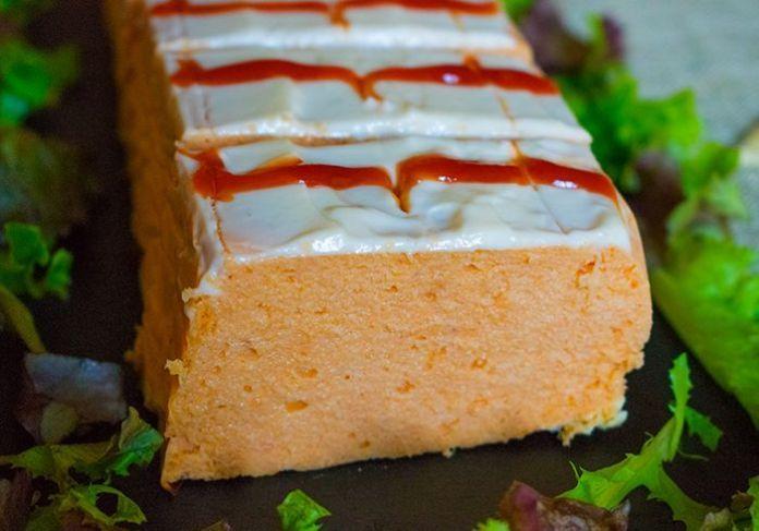 pastel de pescado con merluza y langostinos