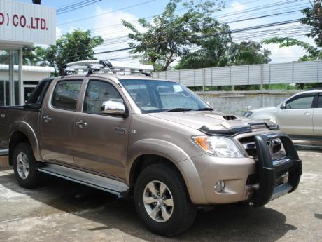 new Toyota Hilux Vigo Double Cab with A-bar at Thailand's most trusted Toyota Hilux Vigo dealer Jack Motors Thailand